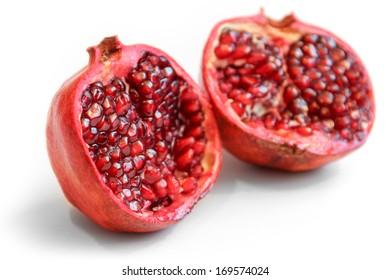 Pomegranate - cut in half 3