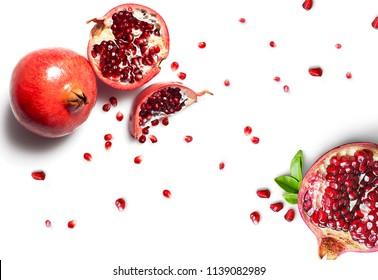 Pomegranate Fruit Background