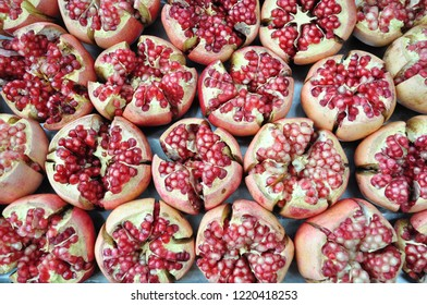 Pomegranate is a kind of vitamin rich fruit.
