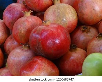 Pomegranates at Shuk-HaCarmel, Tel Aviv