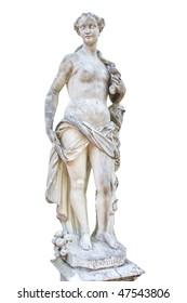 Pomona.  Sculptor F. Kabiank. 1717 year