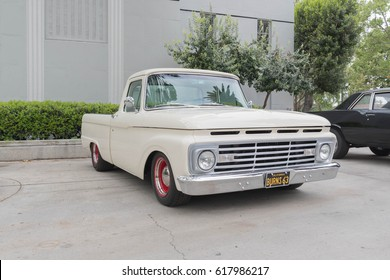 Pomona, USA - April 8, 2017: Chevrolet Pickup on display during the Street Machine and Muscle Car at the Fairplex Exposition Complex.
