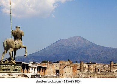 Pompei archaeological excavations, Naples, Italy
