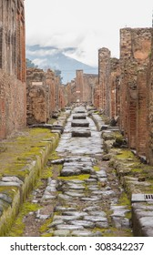 Pompeii on a rainy day