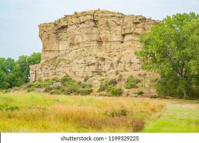 Pompeys Pillar National Monument, Lewis and Clark Trail, Montana, USA