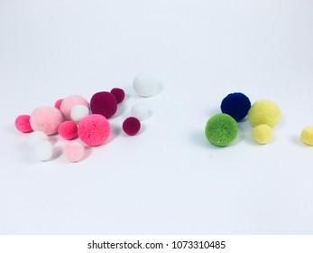 Pompons balls pompon