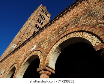 Pomposa Abbey, a Benedictine monastery near Ferrara, Italy. It is an abbey dating from the 9th century.