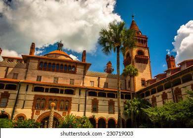 Ponce de Leon Hall, at Flagler College in St. Augustine, Florida.