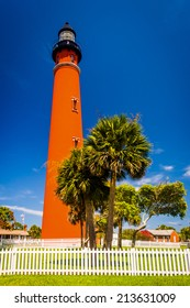 Ponce de Leon Inlet Lighthouse, near Daytona Beach, Florida.
