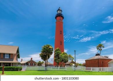 Ponce Leon Lighthouse, Daytona beach, Florida.