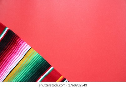poncho Mexican cinco de mayo rug serape fiesta traditional Mexico Mexican poncho serape background with stripes pattern copy space maya blanket minimal simple backdrop -  mayo stock, photo, photograph