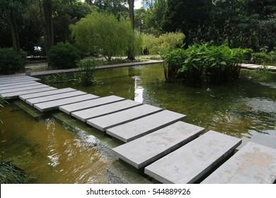 Pond, Water Feature, Hort Park, Southern Ridges, Singapore