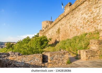 Ponferrada, Spain. Medieval defensive fortifications