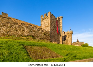 Ponferrada, Spain. Templar fortress