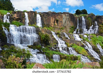 Pongour (Elephant) waterfall near Dalat, Vietnam