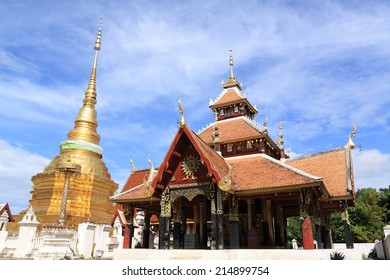 pongsanuk temple,Lampang, Thailand. Asia-Pacific Heritage Award for Cultural Heritage Conservation from UNESCO