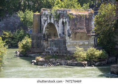The Pons Aemilius (Italian: Ponte Emilio), today called Ponte Rotto, is the oldest Roman stone bridge in Rome, Italy.