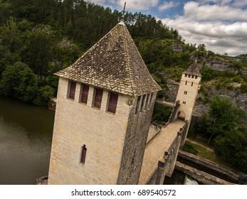 Pont Valentré Bridge at Cahors