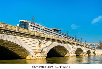The Pont de Bercy, a bridge over the Seine in Paris, the capital of France