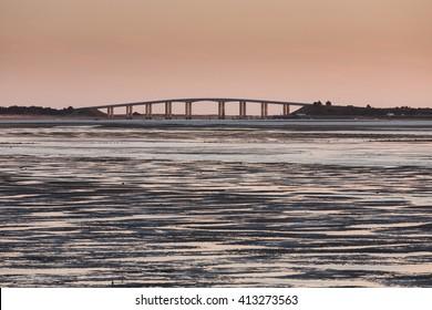 Pont de Noirmoutier, Vendee, France