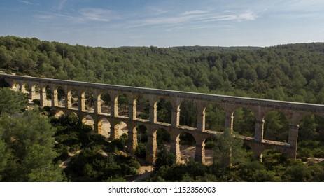 Pont del Diable de Tarragona. Aqüeducte de les Ferreres. Catalunya, España