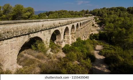 Pont del Diable. Aqüeducte romà de Tarragona, Catalunya, España