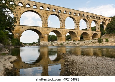 Pont du Gard near Nimes, France