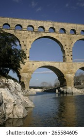 the Pont du Gard,Languedoc,France. taken 24/03/2007