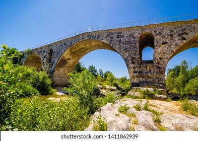 Pont Julien, a roman bridge in Provence
