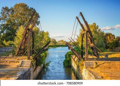 Pont Van-Gogh, Pont de Langlois, Arles - Frankreich
