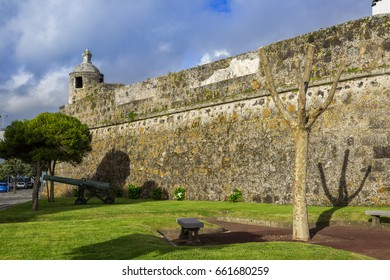 Ponta Delgada on the island of Sao Miguel is the capital of the archipelago of the Azores. The former fortress is now the Military Museum.