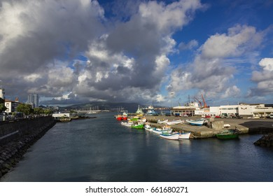 Ponta Delgada on the island of Sao Miguel is the capital of the archipelago of the Azores.