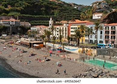 PONTA DO SOL, PORTUGAL - JULY 26: Ponta do Sol is a seaside resort in Madeira, where many touists love to spend their holidays.