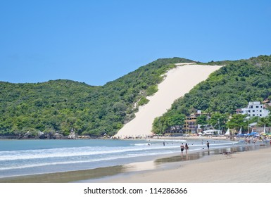 Ponta Negra beach in Natal city - Brazil