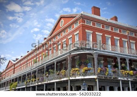 Pontalba Building New Orleans Louisiana This Stock Photo Edit Now