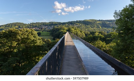 Pontcysyllte Aqueduct, connecting Trevor and Froncysyllte, Wrexham, Wales, UK