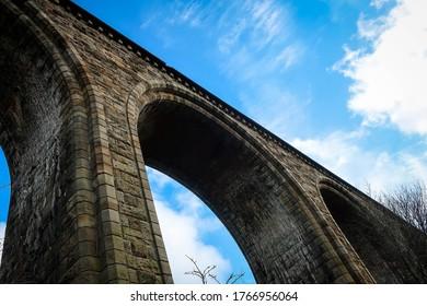 Pontcysyllte Aqueduct general view, Wales
