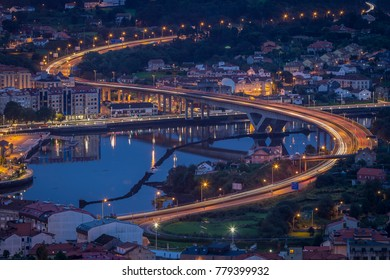 Ponte da Ria Pontevedra Galicia Spain