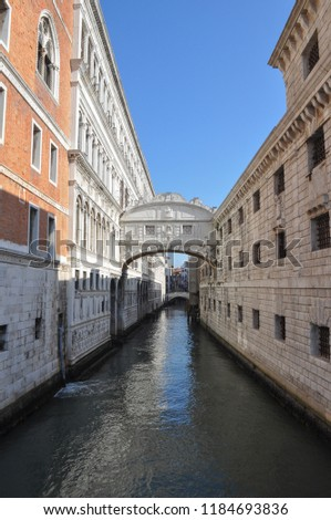 bridge of sighs meaning