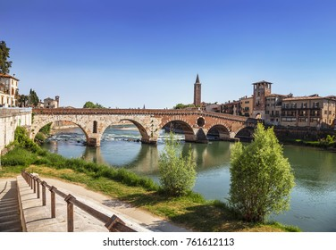 Ponte Pietra is a Roman arch bridge over the Adige river in the Italian city of Verona. Italy