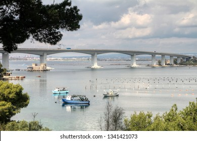 Ponte Punta Penna Pizzone also known as Ponte Aldo Moro is a Girder bridge that spans Mar Piccolo in Taranto, Puglia, Italy
