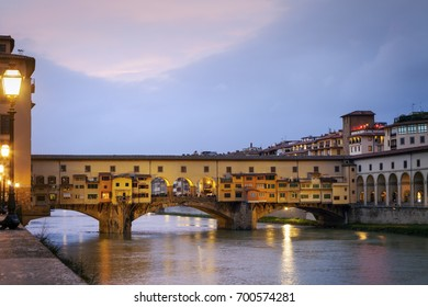 Ponte Vecchio in Florence. Florence, Tuscany, Italy.
