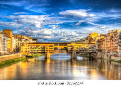 Ponte Vecchio (HDR) in Florence, Italy