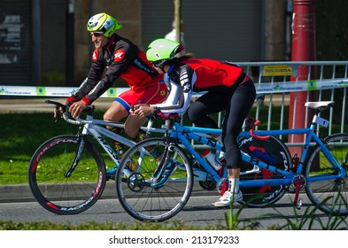 Tandem Bicycle Images Stock Photos Vectors