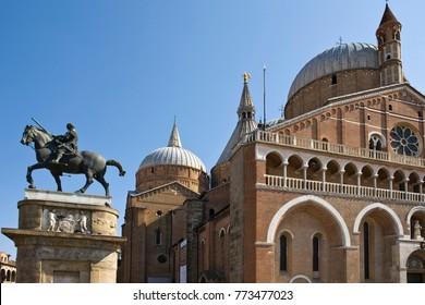 Pontifical Basilica of Saint Anthony of Padua (Basilica di sant'antonio di padova) in Padua city, Italy