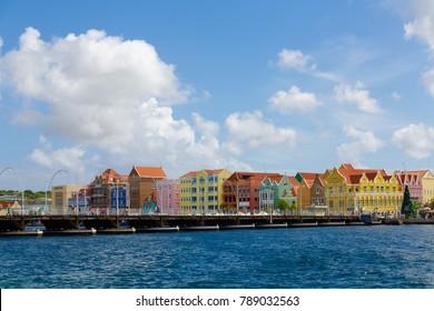 Pontoon Bridge to Willemstad Curacao