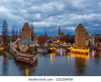 Ponts couverts in Strasbourg France