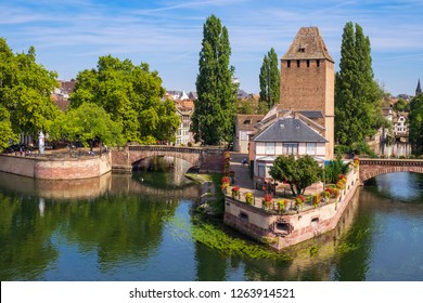 Ponts Couverts in Strasbourg/France
