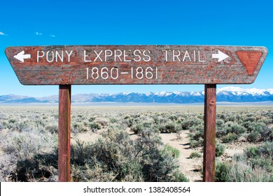 Pony Express Trail. The American West.