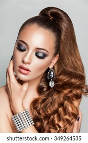 Ponytail Hairstyle Images, Stock Photos & Vectors | Shutterstock